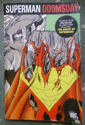DC Comics Superman Doomsday The Collected Edition paperback graphic novel TPB
