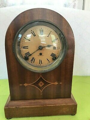 Antique Seth Thomas Inlaid Beautiful Case Beehive Clock-early 1900's