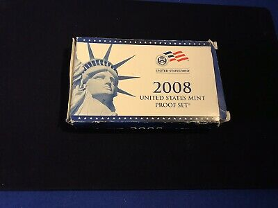 2008 United States PROOF Coin Set - U.S. Mint Official (READ DESCRIPTION)