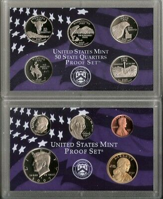 2007S U.S. Mint 10 Coin Proof Set with State Quarters