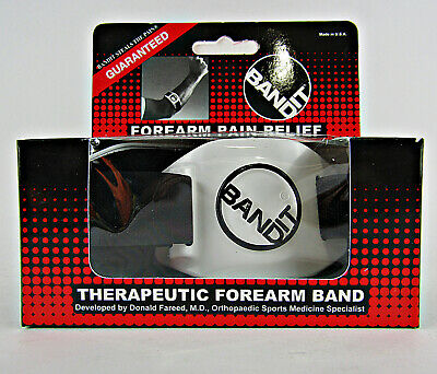 BandIT Pain Relief Forearm Band - Pain Relief For Elbow -Support ForTennis  New
