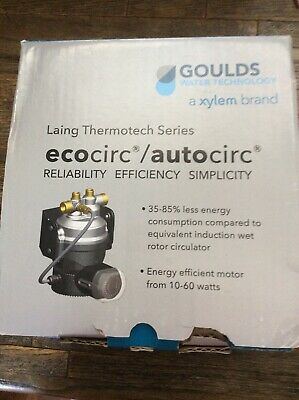 Ecocirc/ Autocirc Laing Thermotech Series Brand New In Box Water Heater