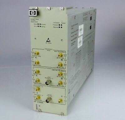 HP E1668A SONET SDH Jitter Analyzer 75000 Series 90