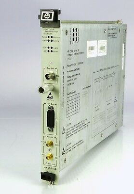 HP E1674A Transport overhead Receiver module VXI bus 75000 series 90