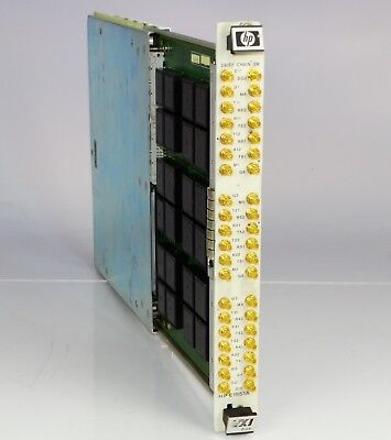 HP E1551A 12 channel Daisy Chain Switch module VXI BUS 75000 series C
