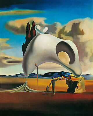 Apparition of a Face and Fruit-Dish Salvador Dali  - CANVAS OR PRINT WALL ART