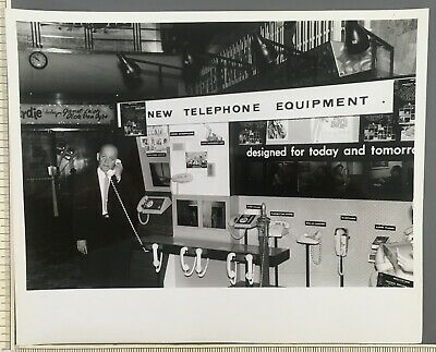 1963 Southern Bell New Telephone Equip Display Photo Tennessee Theatre Nashville