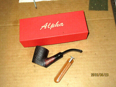 Alpha Pipe #138 With Box