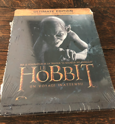 [BLU RAY] STEELBOOK THE HOBBIT.NEUF Sous blister. Peter Jackson.
