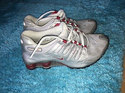 NIKE SHOX PREMIUM Nz Turbo 7 Tl Leather Leder 44 Weiss Rot