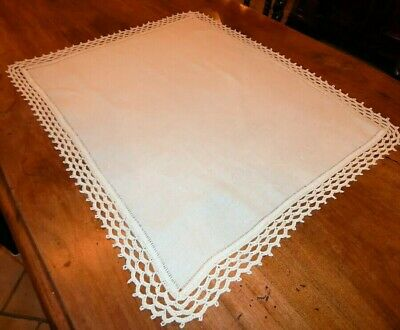 Centrotavola centerpiece Uncinetto made in italy Crochet doily hand made vintage