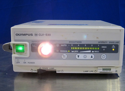 Olympus OES CLV-S30 Xenon Endoscopy Light Source 30 Day Warranty! Tested!