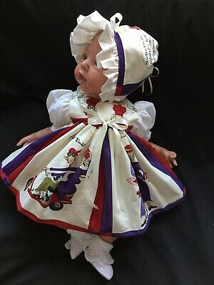 "Reborn Doll Dress Set Vintage Ladies. 19-21""."