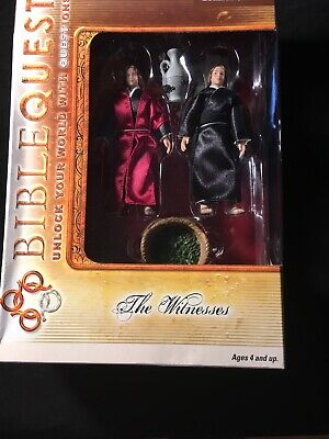 NEW HOLLYDAYS 2007 BIBLE QUEST--PETER AND JOHN FIGURE SET Action Figurines