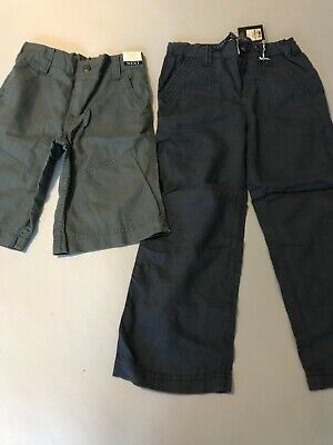 Bnwt Bundle Of Linen Trousers And Shorts From Next Age 4-5