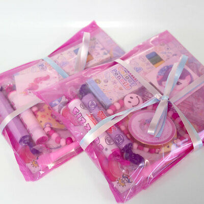 Unicorn Party Bags Themed Pre Filled Girls Vegetarian Pretty Pink Party Parcels