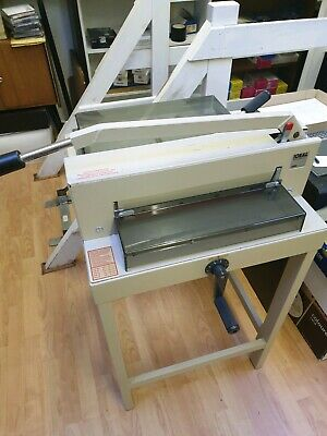 Ideal 3905 Guillotine with Stand