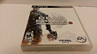 Dead Space 3 Limited Edition For PS3 Complete With Manual Included