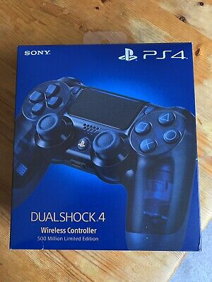Limited Edition Sony PlayStation DualShock 4 V2 500 Million PS4 Controller NEW