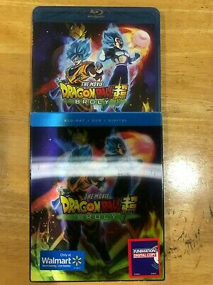 Dragon Ball Super: Broly (Blu-ray + DVD + Digital) w/ Slip Cover
