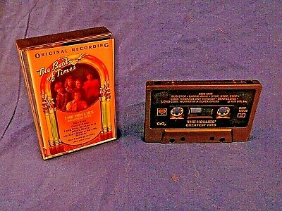 The Hollies ~  the Hollies Greatest hits - CrO2 edition Cassette tape - 1973