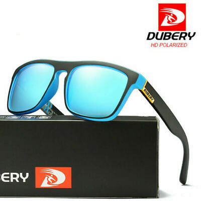 DUBERY Sports UV400 Polarized Driving Sunglasses Outdoor Riding Fishing Goggles