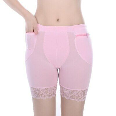 Safety Shorts Women Lady Fashion Lace Pants Legging with Zipper Pocket Underwear
