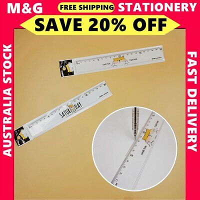 1x M&G Shiba Inu Series Ruler 20cm  School Office Stationery ARLN0478