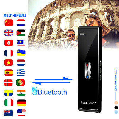 Traduttore vocale intelligente Traduttore portatile multilingue in tempo