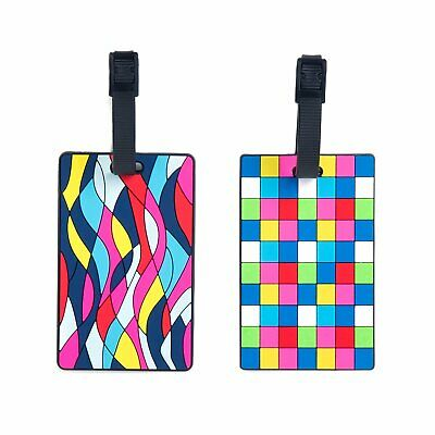 Globite Silicone Luggage Tags 2pk Travel Accessories