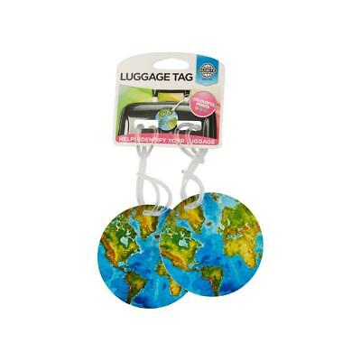 Globite Luggage Tags 2pk -  World Travel Accessories