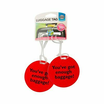 Globite Luggage Tags 2pk - Slogan Travel Accessories