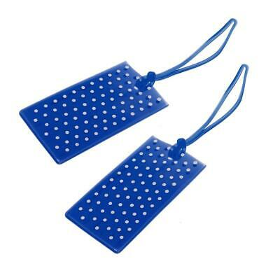 Globite Jelly Luggage Tags Spot 2 Pk- Royal Travel Accessories