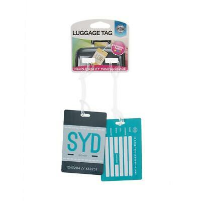Globite Basic Luggage Tags Sydney Travel Accessories