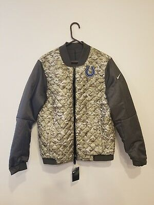 brand new 96658 a9798 NIKE NFL NEW York Jets Salute to Service Reversible Bomber ...
