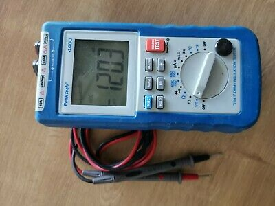 PeakTech 4395 - isolation tester with Digital-Multimeter (P4395) 4400