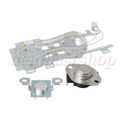 WP8544771 Dryer Heating Element with 279973 Dryer Thermal Fuse Kit