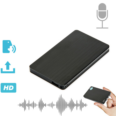 New Mini Hidden Audio Recorder Voice Activated Listening Device 96 Hours 8GB