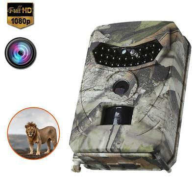 Trail Camera 16MP 1080P Wildlife Hunting Camera with 120° Wide Games Camera BG