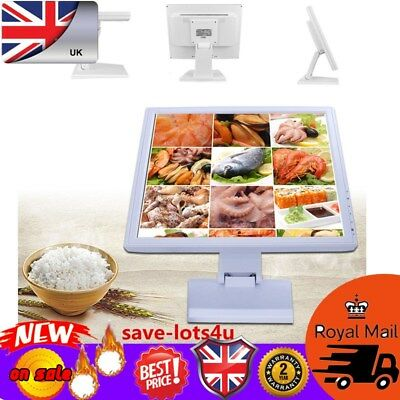 "17"" Touchscreen EPOS POS Cash Register VOD System HD 1280x1024 for Pubs and Bars"
