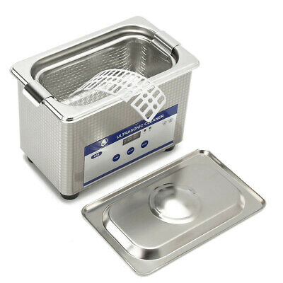 ULTRASONIC CLEANER 0 8L Jewelry Cleaner Sonic Cleaning