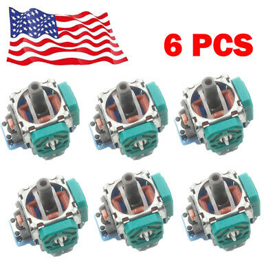 6/12pcs Analog Stick Joystick Replacement for XBox One PS4 Controller