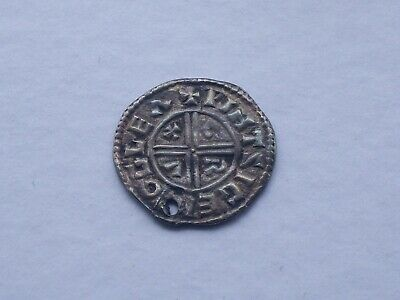 "KING AETHELRED II (r 978-1016): SILVER ""CRUX"" PENNY IN NICE CONDITION - RARE!!"