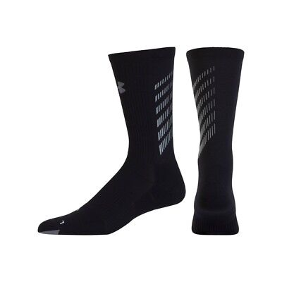 Under Armour Reflectante Run Running Crew Calcetines Hombre o Mujer Grande