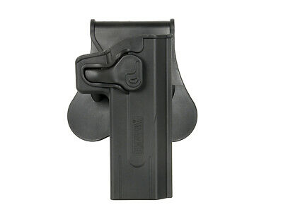Airsoft  AMOMAX rot 360 holster Hi CapaBLACK  milsim tactical