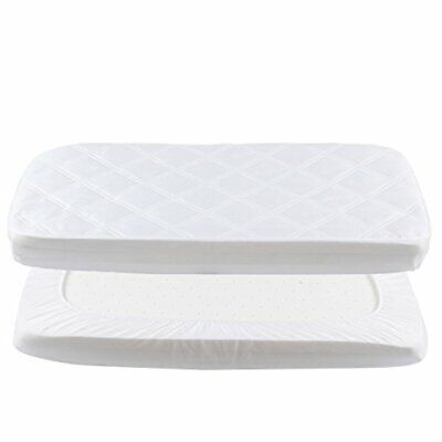 Waterproof Mattress Cover - Fitted Crib Mattress Protector - Hypoallergenic Baby