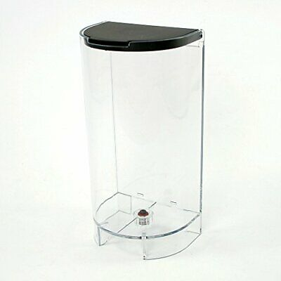Tank with lid for Krups, Nespresso, Inissia and Delonghi coffee machines.