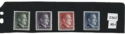 #3362   MH Adolph Hitler stamp set / Complete Large Issues / Third Reich / WWII