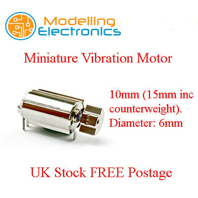 Mini Vibration PCB Motor 3V for Mobile Phones Pagers Robotics Control Sticks