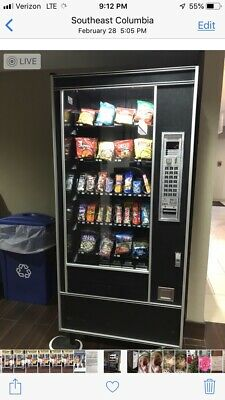 Snack Vending Locations with Machines